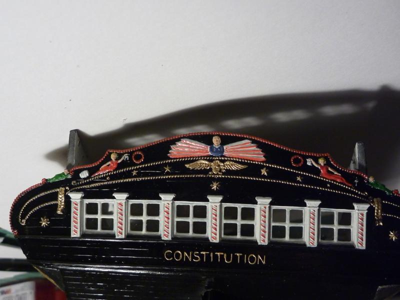 USS Constitution von Revell 1/96 P1020311
