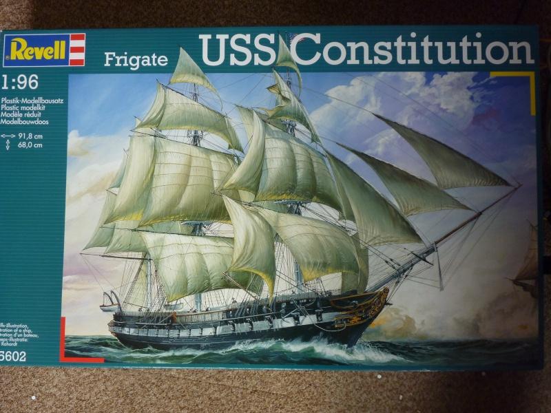 USS Constitution von Revell 1/96 P1020410