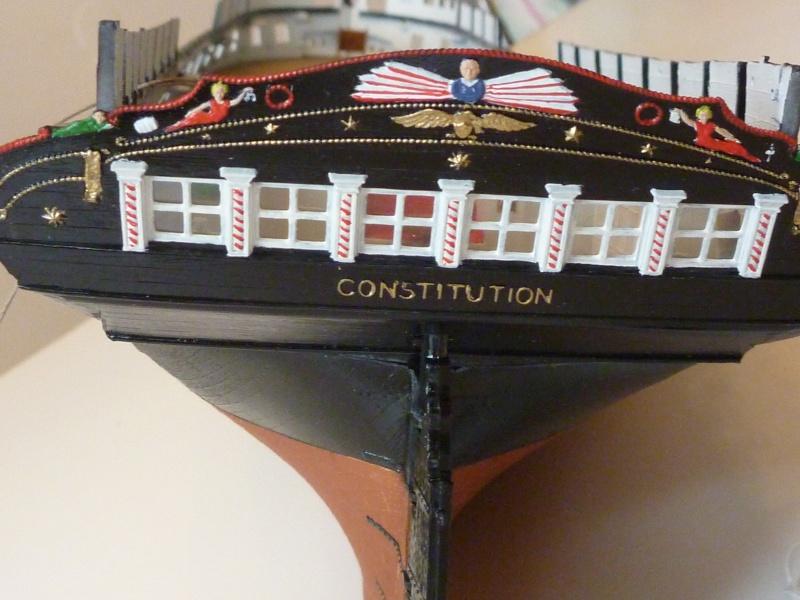 USS Constitution von Revell 1/96 P1020419