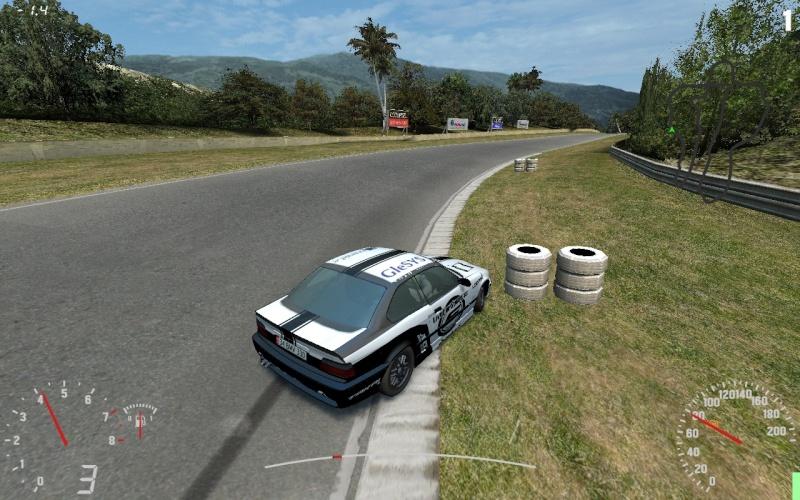 me drifting on LFS game Untitl10