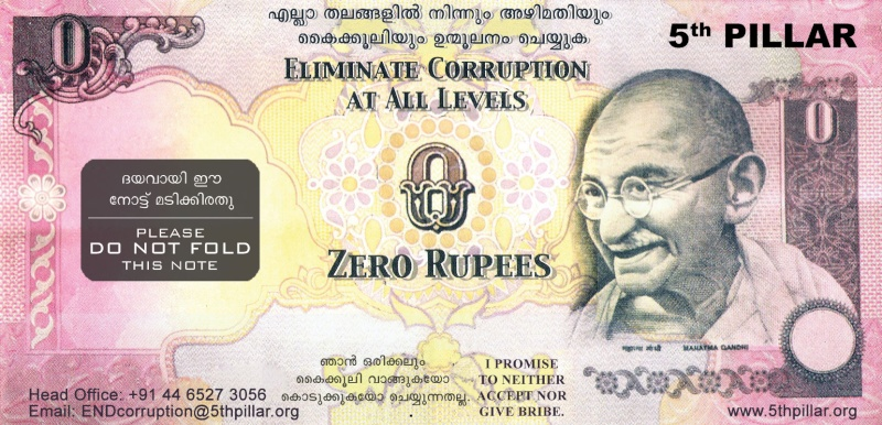 Suggest measures for the eradication of wide spread corruption in public life in India Malaya13