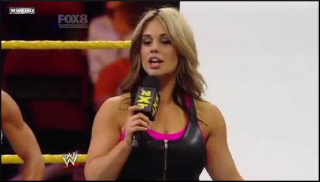 Kaitlyn : Rookie Diva Talent Show 4live46