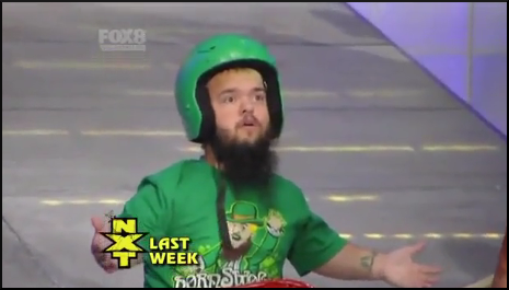 NXT Last Week Hornswoggle 4live56