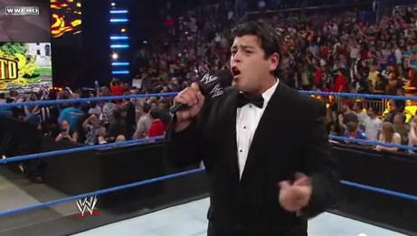 Alberto Del Rio entrance SmackDown Awesom18