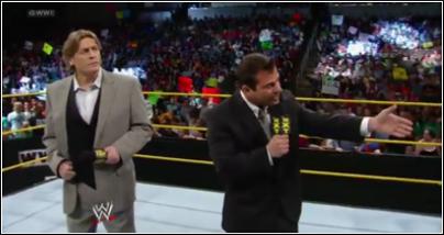 Matt Striker & William Regal à NXT Nxt18