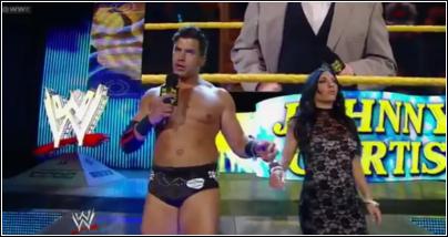 Johny Cutis entrance NXT Nxt24