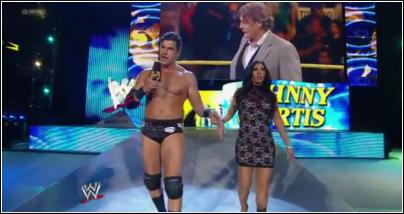 Johny Cutis entrance NXT Nxt25