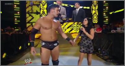 Johny Cutis entrance NXT Nxt27