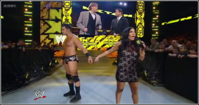 Johny Cutis entrance NXT Nxt29