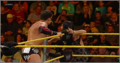 Johny Cutis entrance NXT Nxt34