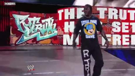 R-Truth entrance SmackDown Segmen21