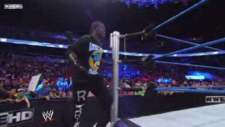 R-Truth entrance SmackDown Segmen22