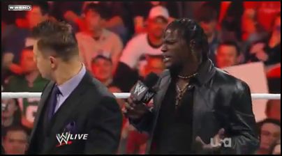 Awesome Truth: The Miz & R-Truth Breaks-Up - WWE RAW 11/21/11 Suite11