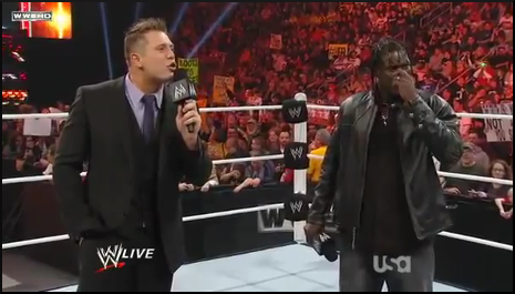 Awesome Truth: The Miz & R-Truth Breaks-Up - WWE RAW 11/21/11 Uscham39