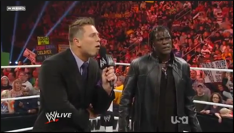Awesome Truth: The Miz & R-Truth Breaks-Up - WWE RAW 11/21/11 Uscham42