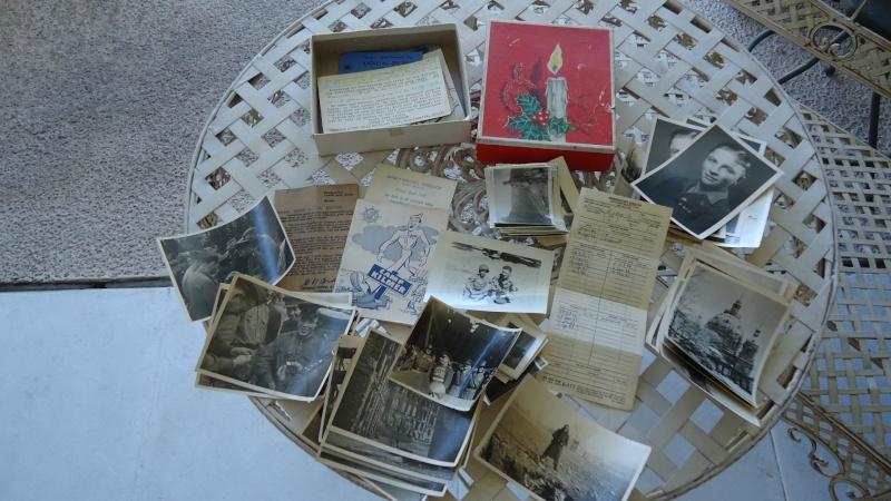 Photos et papiers divers Berlin 1945 ............. Dsc00929