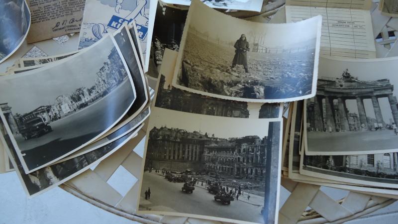 Photos et papiers divers Berlin 1945 ............. Dsc00935