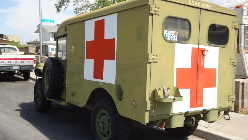 Ambulance Dodge M-43  3/4 ton 4x4 Dsc01012