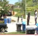 Policiais são chamados para impedir que as crianças fossem levadas. Kiki10