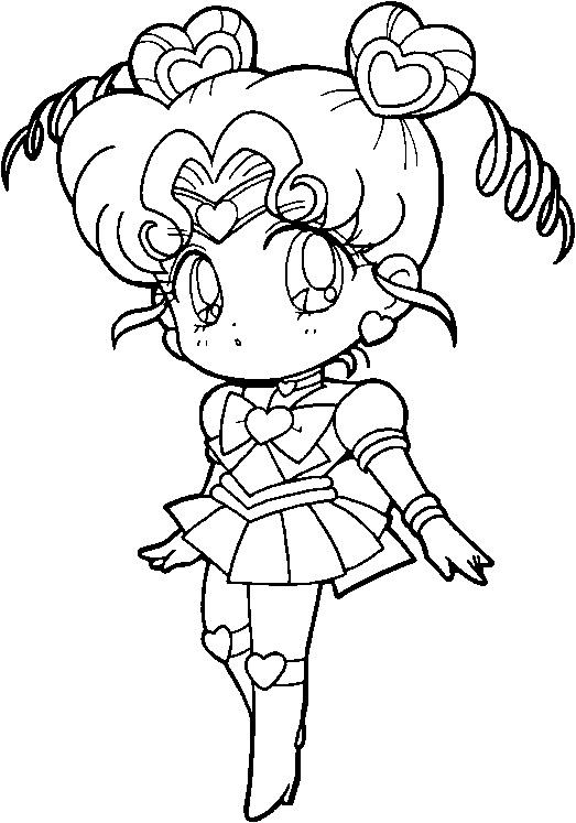 Sailor Moon Coloring Page Contest Thursday Chibic11