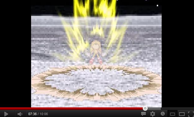 Request: Sonic - Goku Powerup Sprites Ericso11