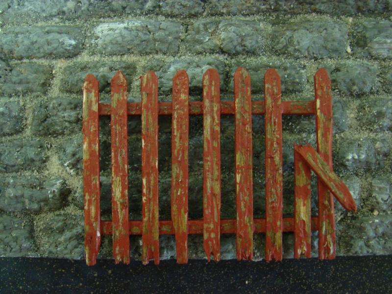 Bruchsteinmauer aus Styropor mit Lötkolben 1:22.5 Dsc04427