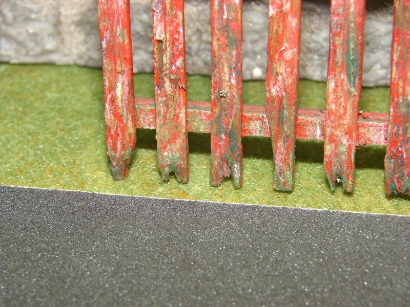 Bruchsteinmauer aus Styropor mit Lötkolben 1:22.5 Dsc04429