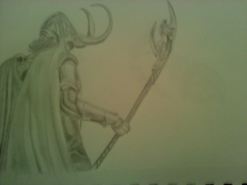 My drawing of Loki Loki11