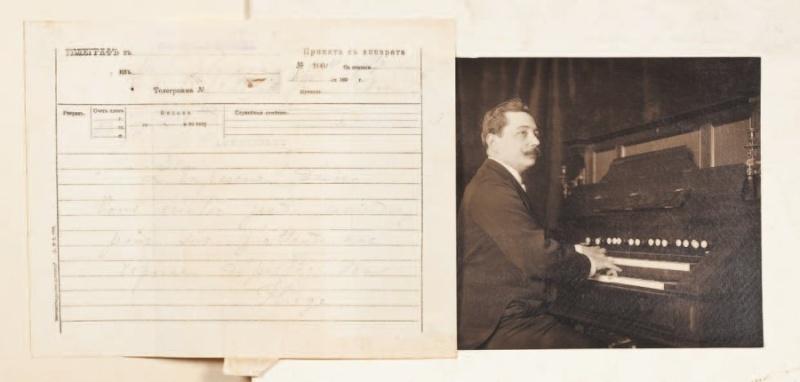 Documents personnels d'Alphonse Mustel aux enchères!!! - Vendus ... Alph_m13
