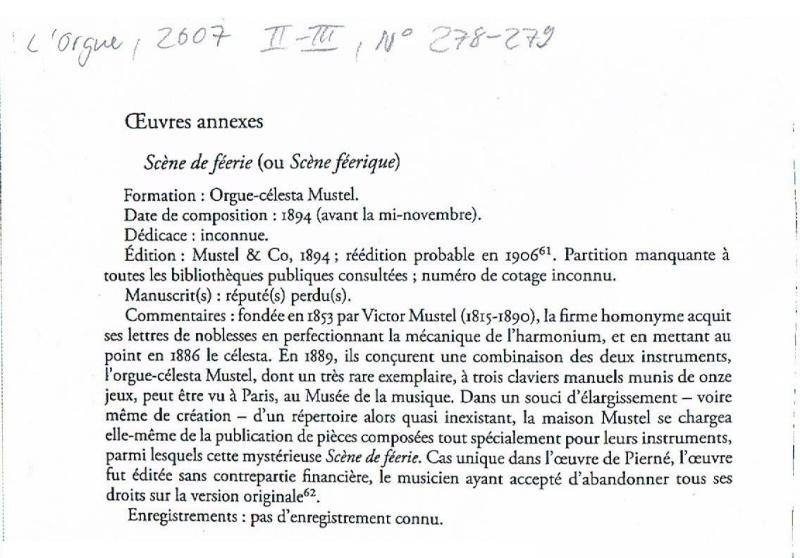 Répertoire mystérieux - II: Gabriel Pierné: Scène féerique Feer10