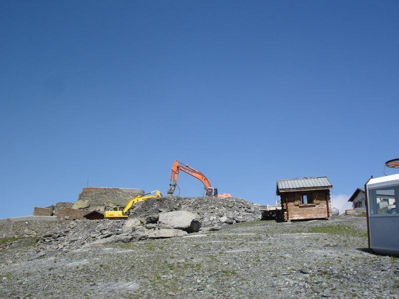 [La Rosière] Transformation du TSF du Fort en débrayable Dsc05712