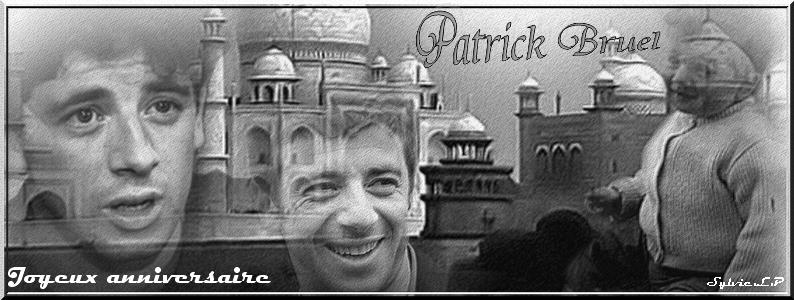 Joyeux anniversaire Patrick !! <3 Sans-t11