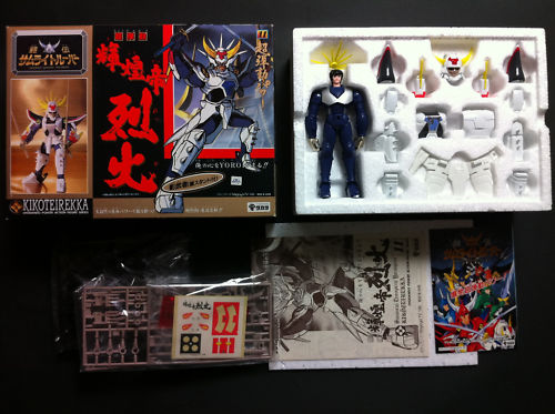 Phanton : Bootlegs entre saint seiya et samurais de l'éternel B76fdd10