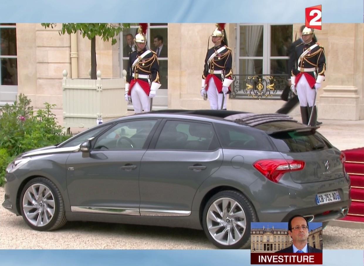 [EVENEMENT] La DS 5, voiture présidentielle - Page 5 Vlcsna11