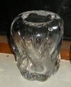 Heavy lobed glass vase - Daum? Dscn8230