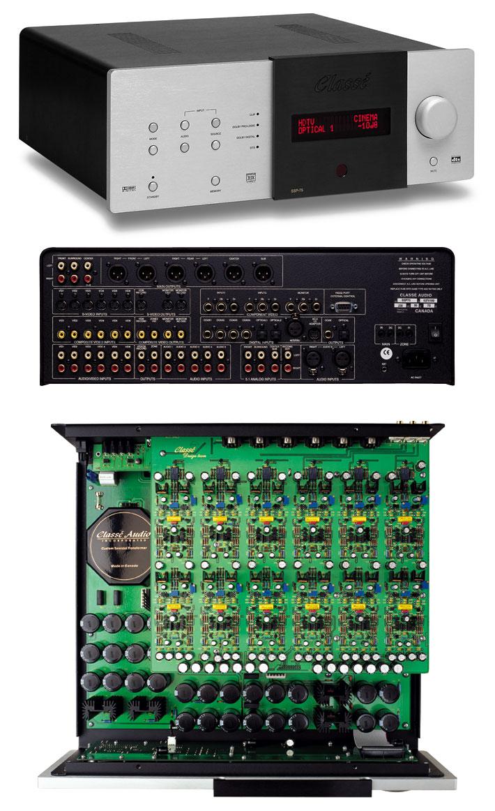 L'impianto stereo e HT di RLC Ssp75-10