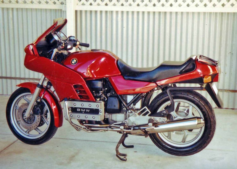 85 K100RS to Naked K100rs18