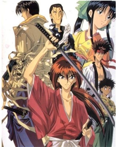 Kenshin le vagabond [1996] [S.Anim] Affich10