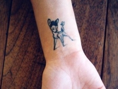 Un Tatouage En Travaillant A Disney Possible