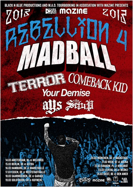 REBELLION TOUR 2013 Mazine11