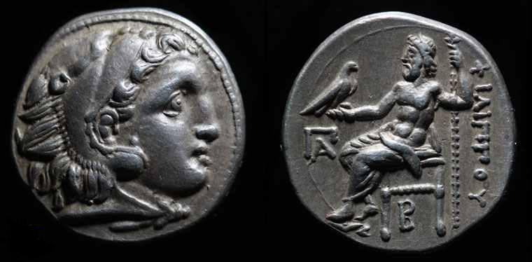 Drachm of Philipp III. Ic2td110