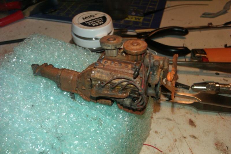 Rusty car  Engine10