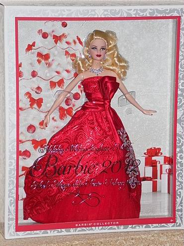 "Barbie ""Joyeux Noël 2012"" Barbie10"
