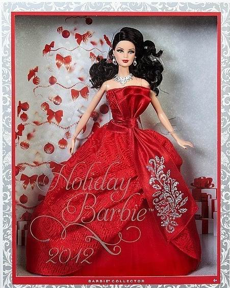 "Barbie ""Joyeux Noël 2012"" Barbie13"