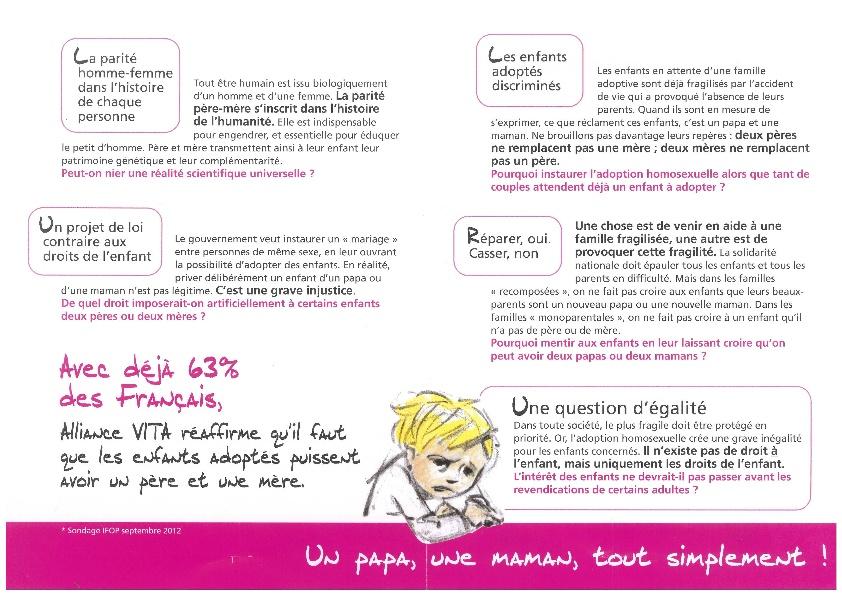 Les derapages autours de la manif anti mariage gay - Page 6 Catho210