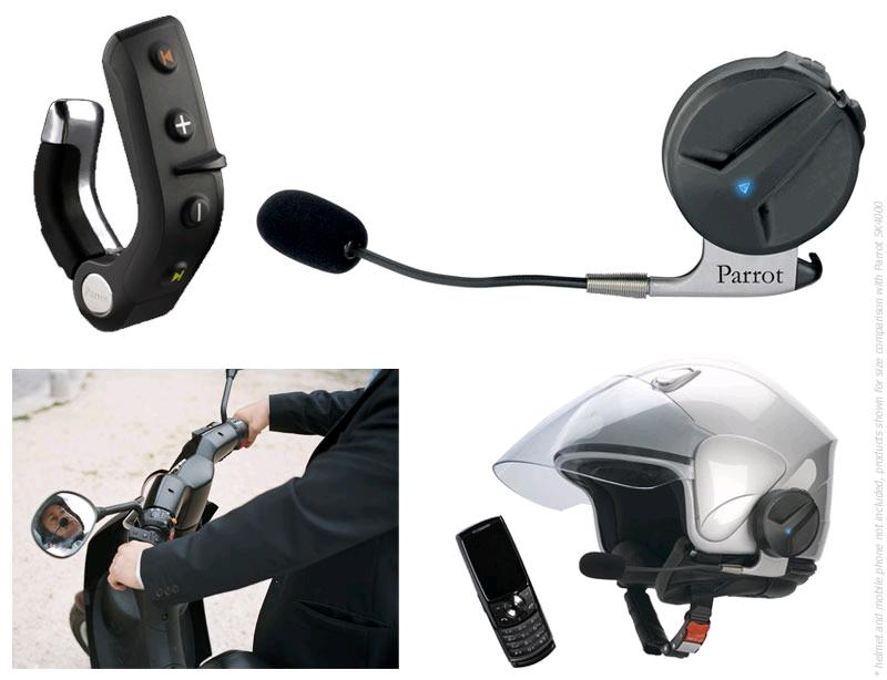 Kit mains libres bluetooth + support smartphone easyrider Sk400010
