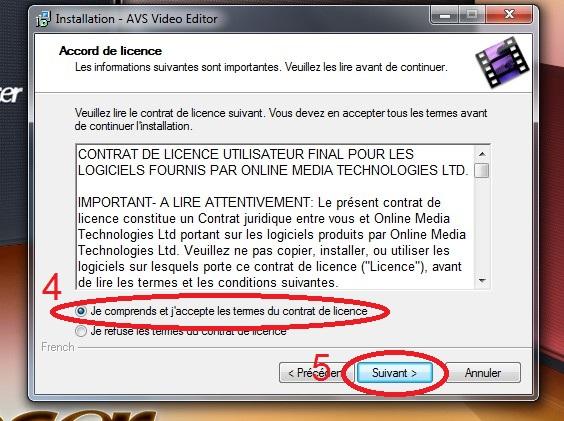 [Débutant]Télécharger et Installer AVS Vidéo Editor Img710