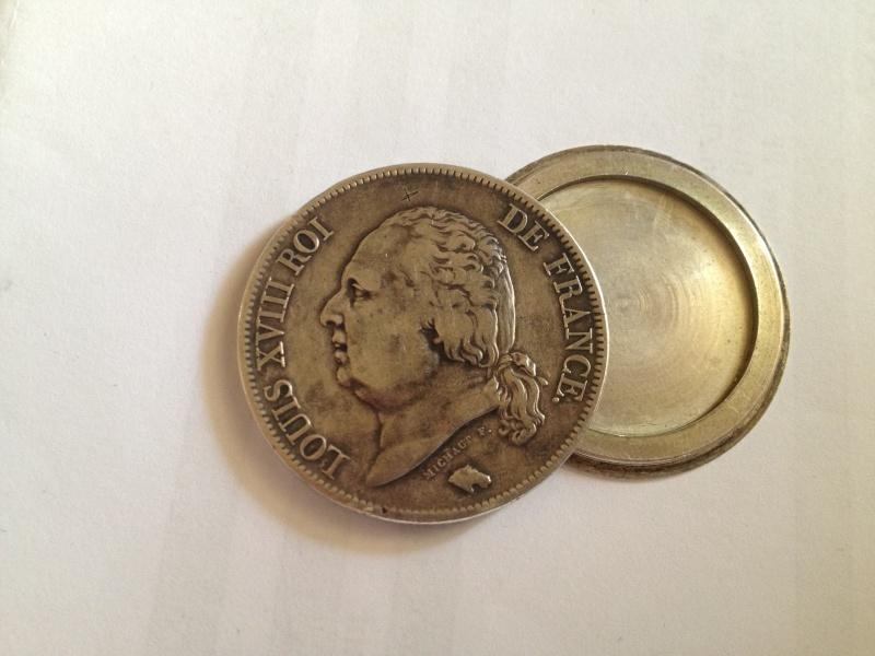 5 Francs - Louis XVIII - 1817  K - Boite de Forçat Img_0312