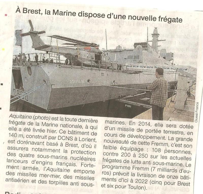 L'Aquitaine arrive ; La Saone , La Dive et L'Argens ferraillés 00310