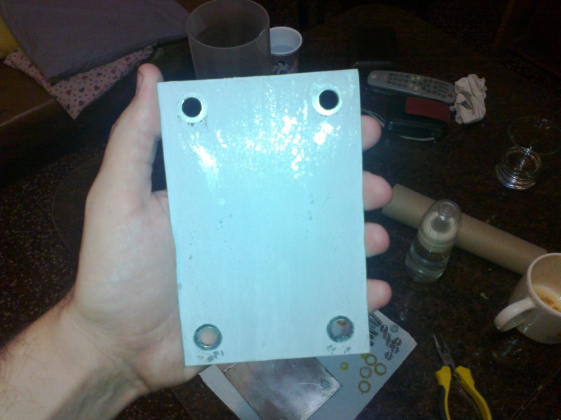 Placas, cavidades, electrodos y electrolito 02102010